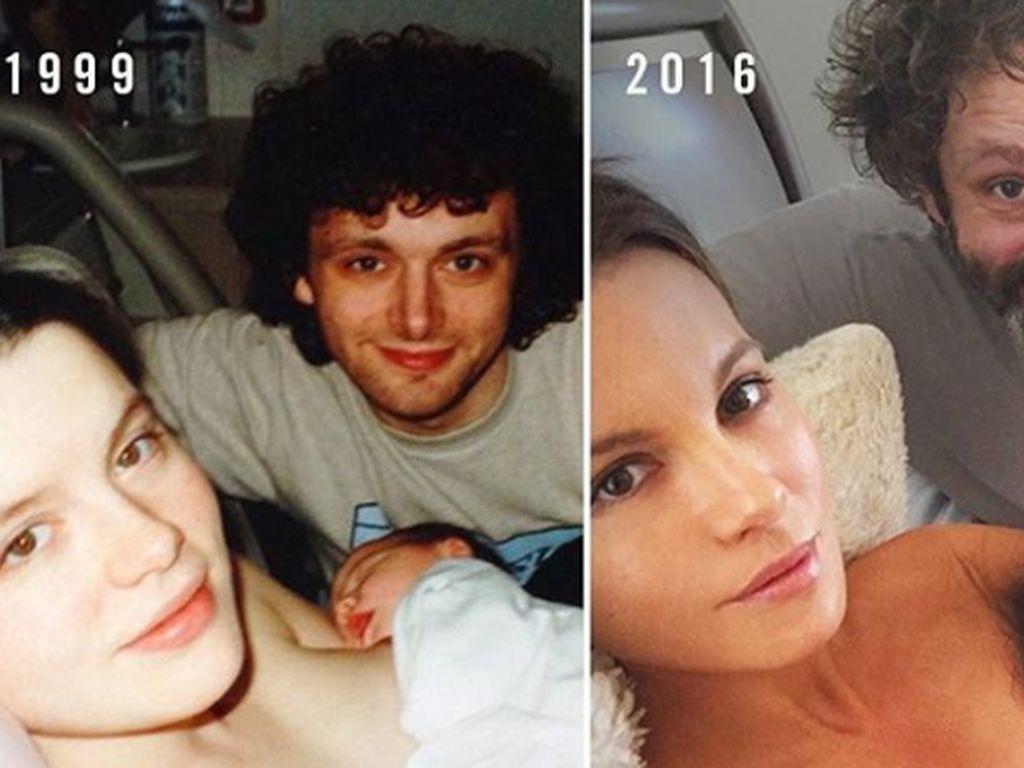Kate Beckinsale mit Michael Sheen und Tochter Lily