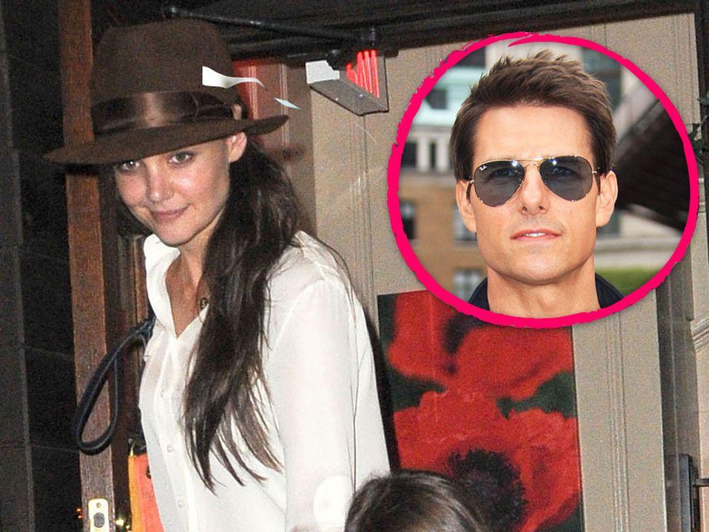 Tom Cruise, Suri Cruise und Katie Holmes