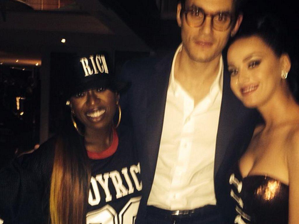 Katy Perry, John Mayer und Missy Elliott