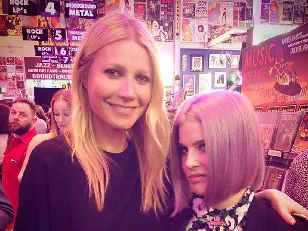 Gwyneth Paltrow und Kelly Osbourne
