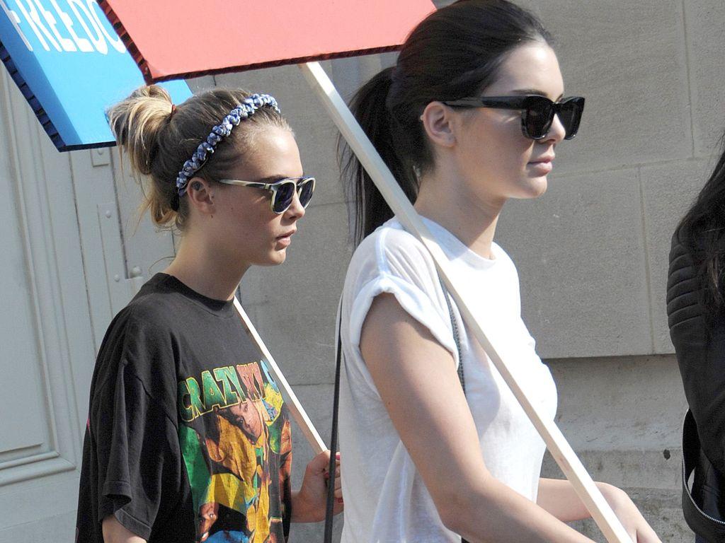 Kendall Jenner und Cara Delevingne