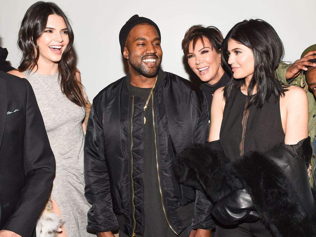Kylie Jenner, Kanye West, Kendall Jenner und Kris Jenner