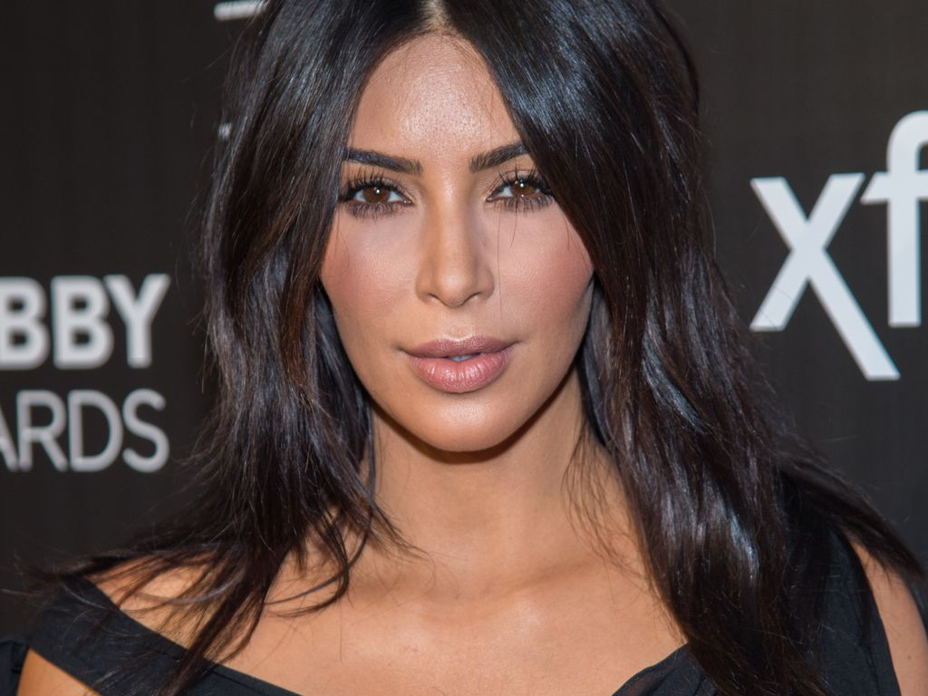 Kim Kardashian auf dem roten Teppich der 20th Annual Webby Awards in New York