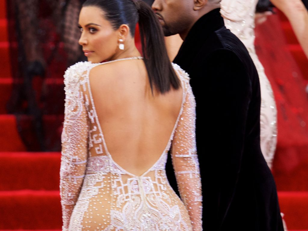 Kim Kardashian bei der Met Gala 2015