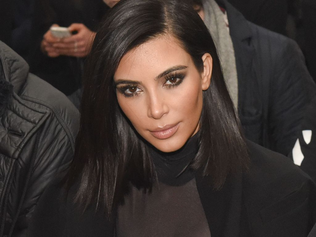 Kim Kardashian im Februar 2015 in New York