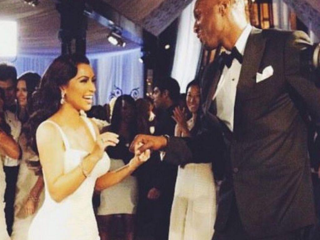 Kim Kardashian und Lamar Odom