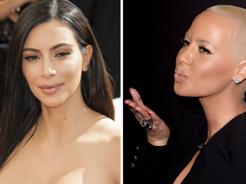 Kim Kardashian und Amber Rose