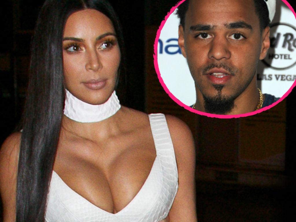 Kim Kardashian und J. Cole