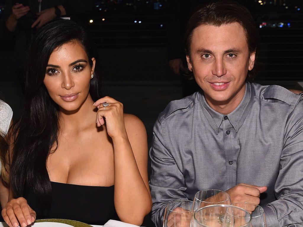 Kim Kardashian und Jonathan Cheban