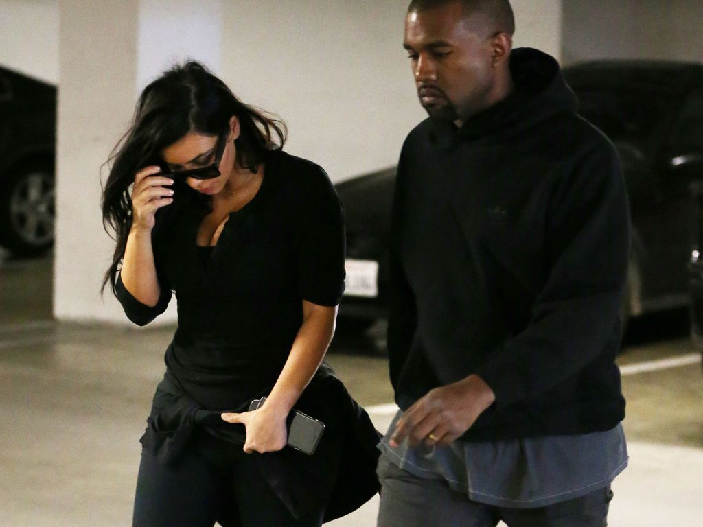 Kim Kardashian und Kanye West