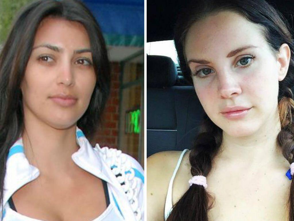 Kim Kardashian und Lana Del Rey