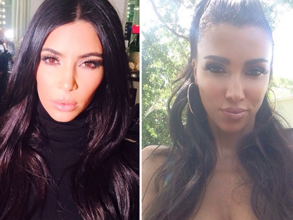 Kim Kardashian und Metisha Schäfer