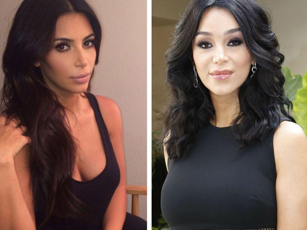 Kim Kardashian und Verona Pooth
