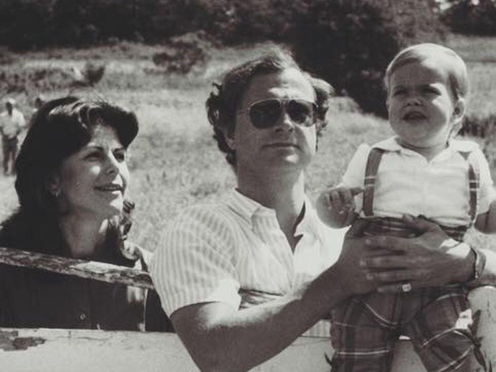 Madeleine von Schweden, Königin Silvia von Schweden und Carl Gustaf