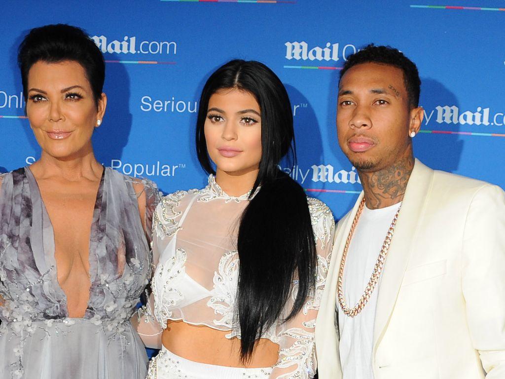Tyga, Kylie Jenner und Kris Jenner