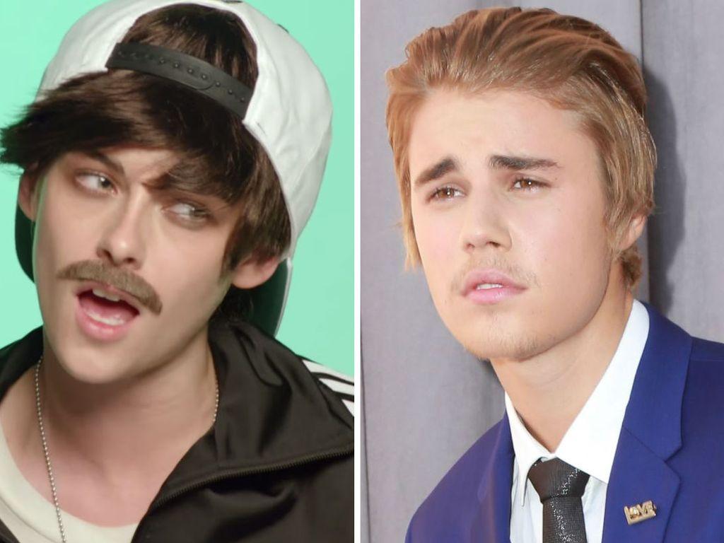 Justin Bieber und Kristen Stewart