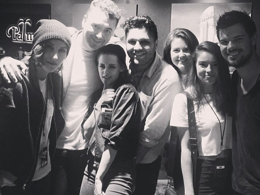 Kristen Stewart und Taylor Lautner