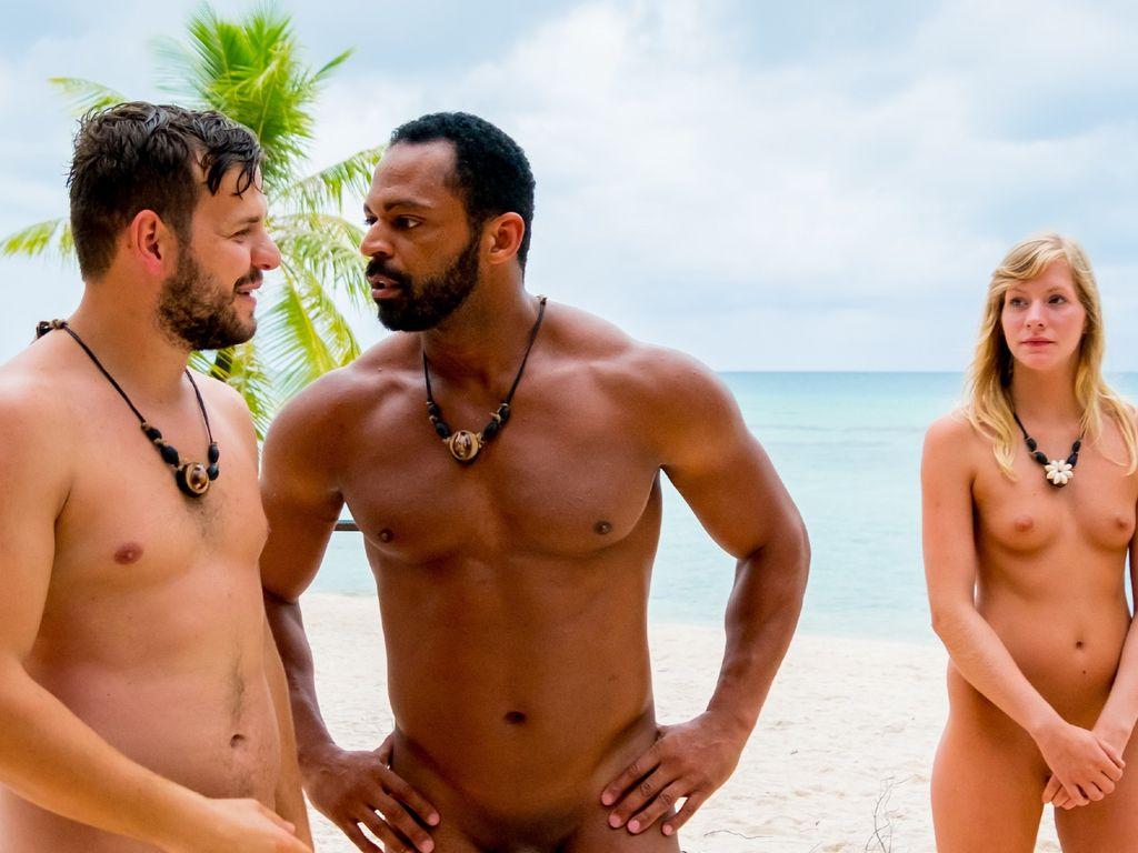 """Kushtrim, Jesse, Marlena auf der """"Insel der Versuchung"""""""
