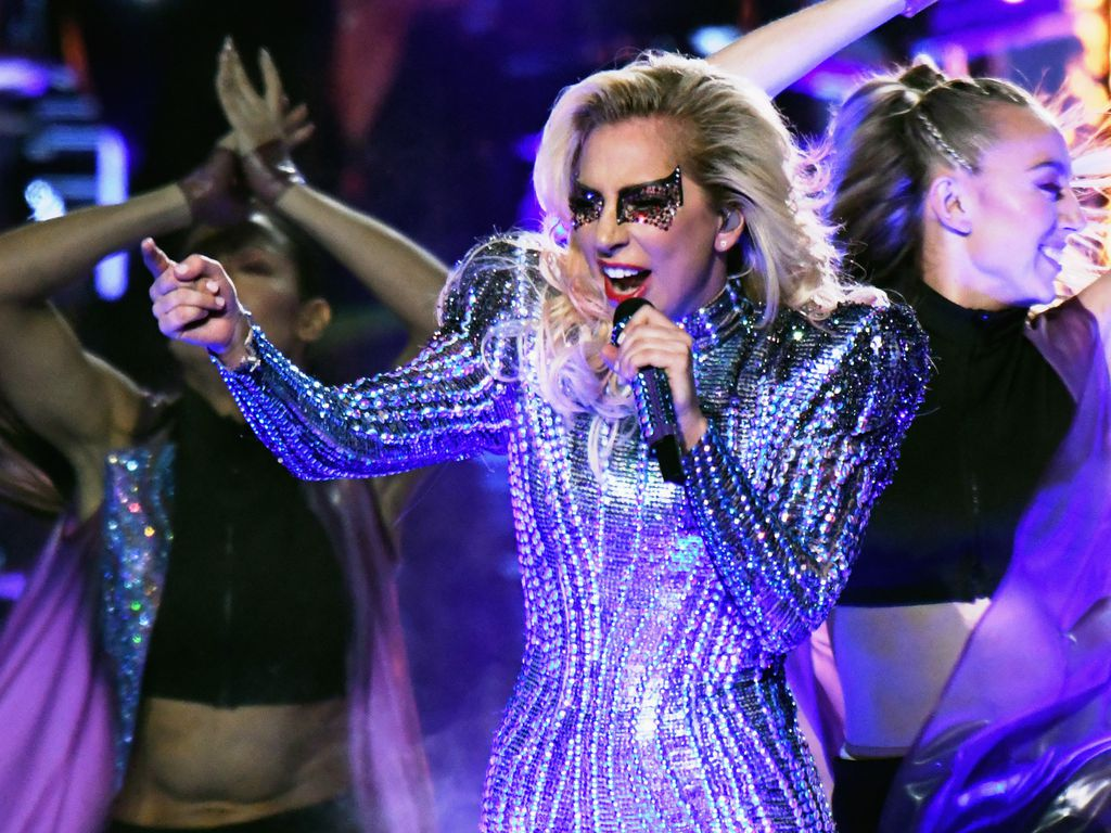 "Lady Gaga bei der ""Pepsi Zero Sugar Super Bowl LI Halftime Show"" in Houston"