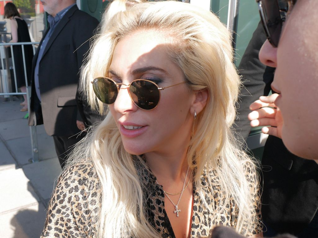 Lady Gaga an der Mercedes Benz Arena in Berlin