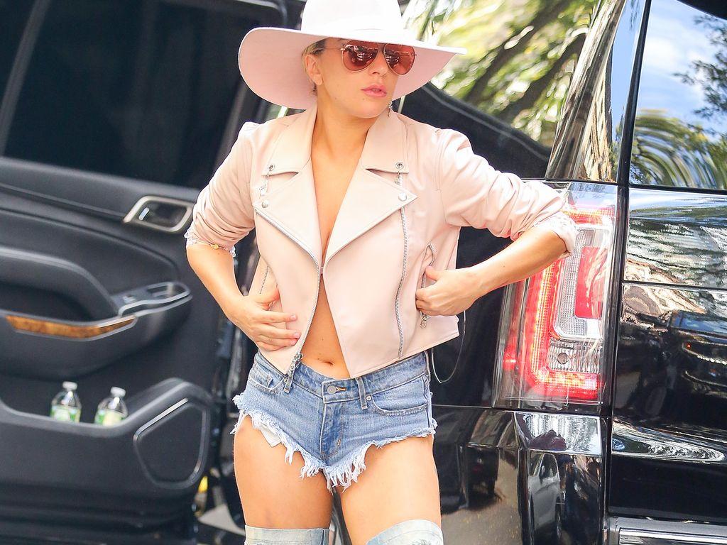 Lady GaGa vor SiriusXM in New York