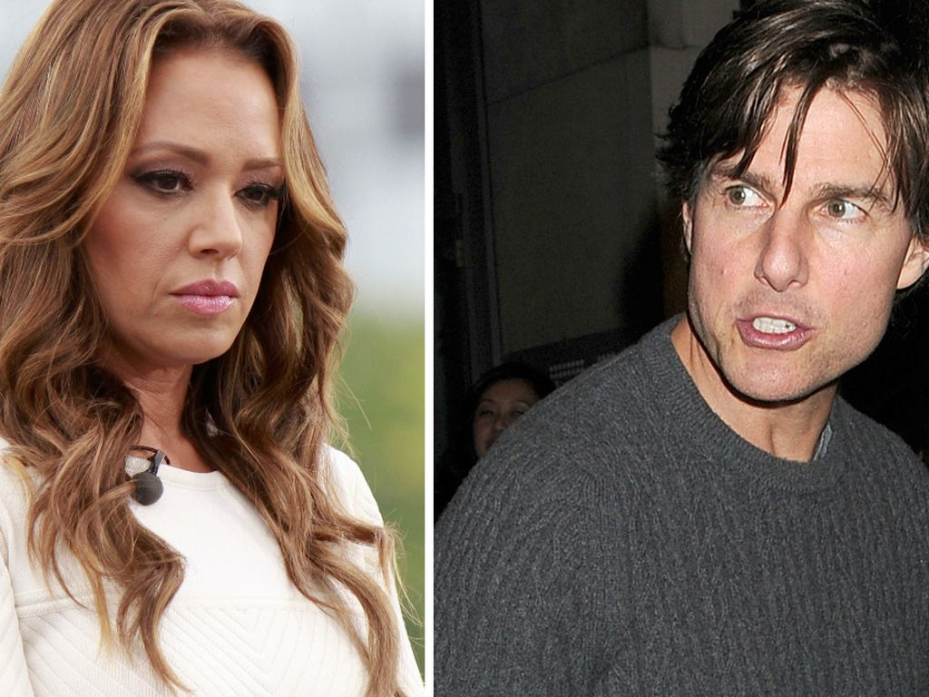 Leah Remini und Tom Cruise