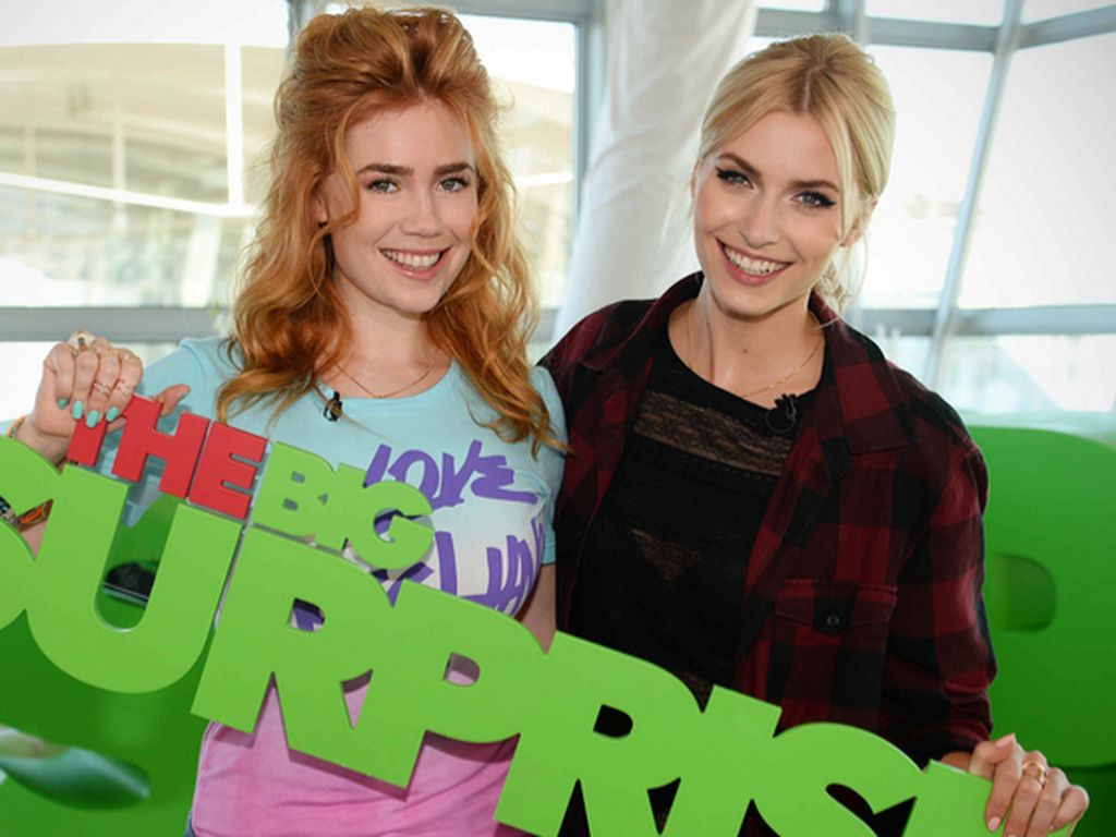 Lena Gercke und Palina Rojinski