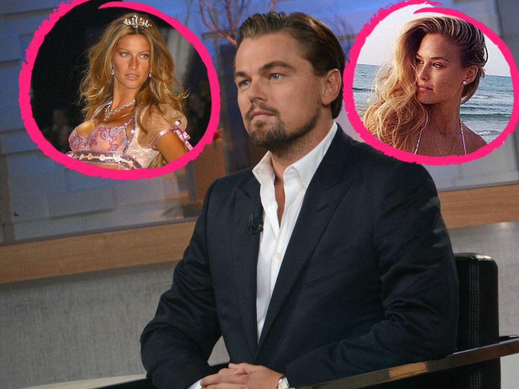 Leonardo DiCaprio, Bar Refaeli und Gisele Bündchen
