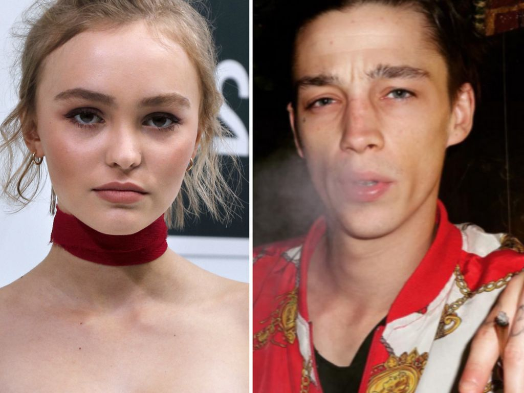 Lily-Rose Depp und Ash Stymest