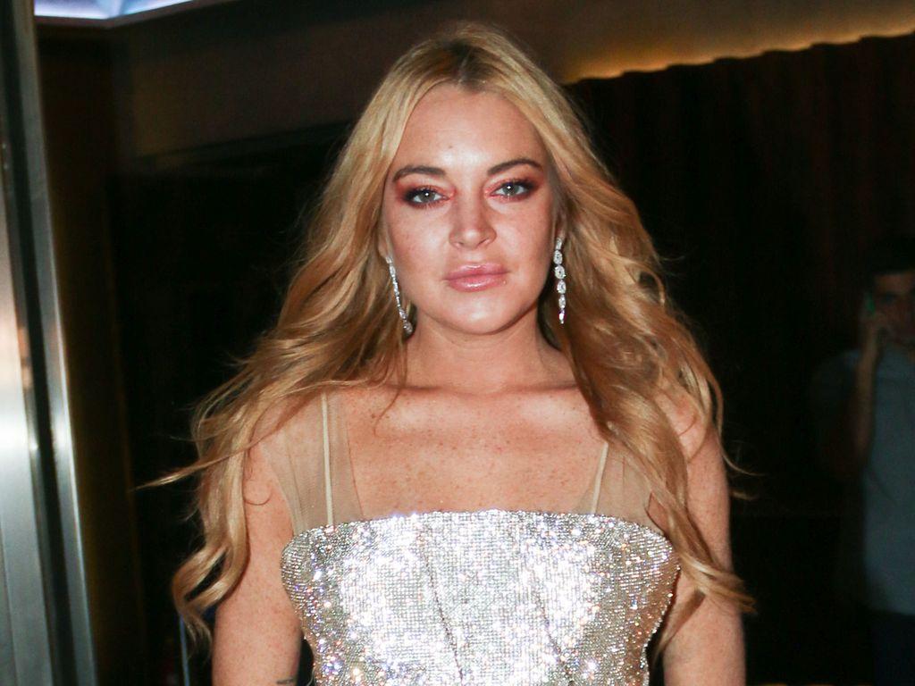 """Lindsay Lohan bei der Eröffnung ihres Nachtclubs """"Lohan"""" in Athen"""