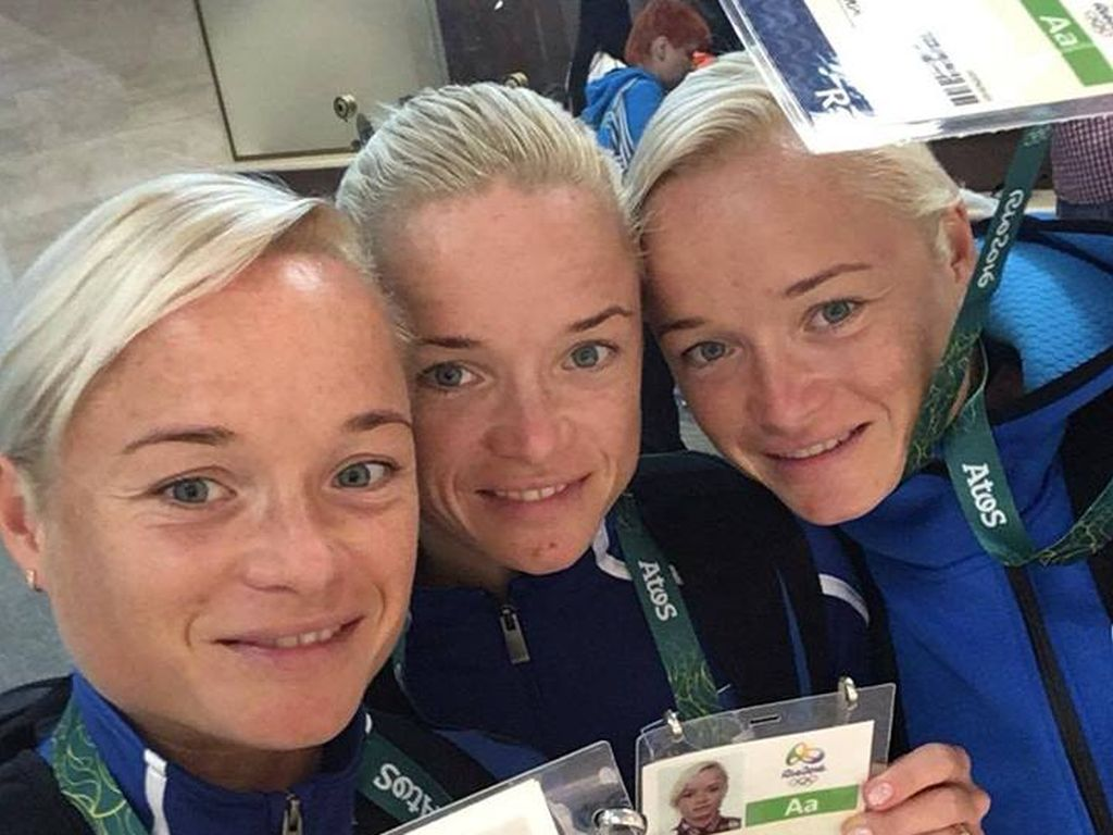Luik-Drillinge, Marathonläuferinnen