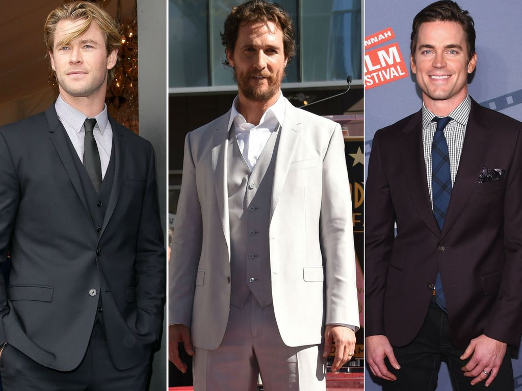 Chris Hemsworth, Matt Bomer und Matthew McConaughey