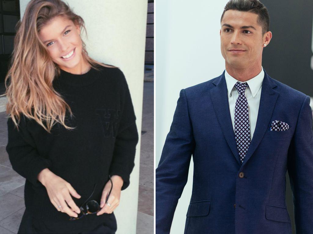 Cristiano Ronaldo und Maja Darving