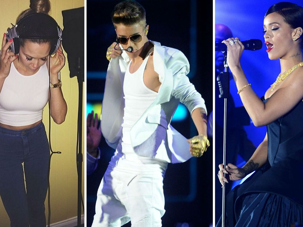 Justin Bieber, Rihanna und Mandy Capristo