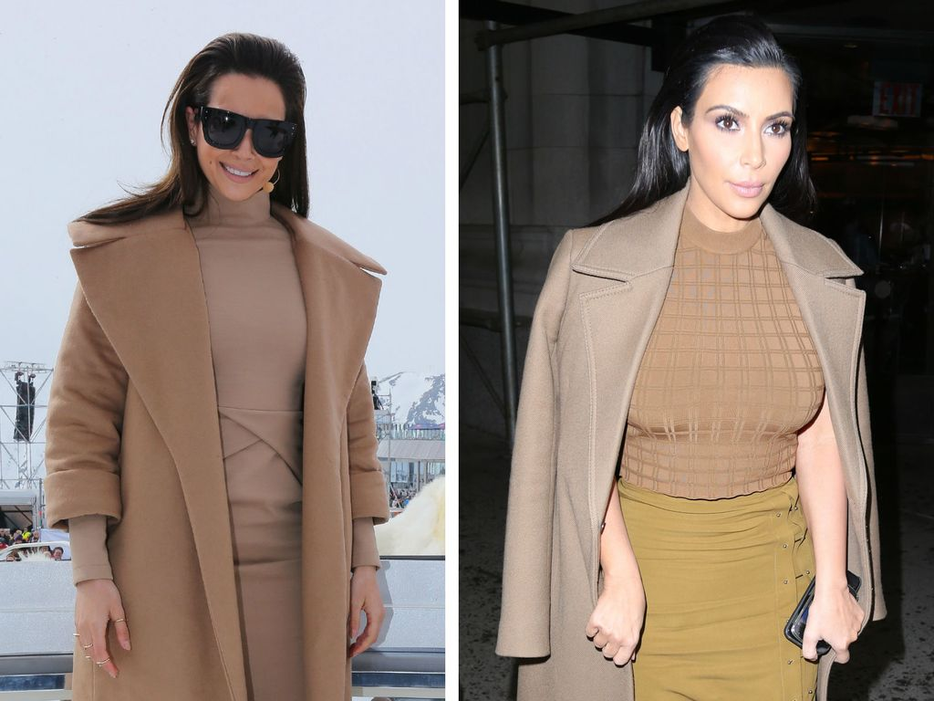 Kim Kardashian und Mandy Capristo