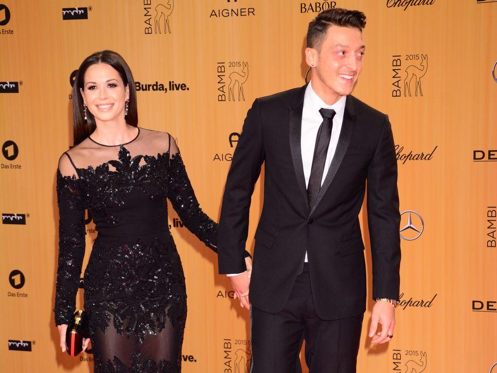 Mandy Capristo und Mesut Özil beim Bambi