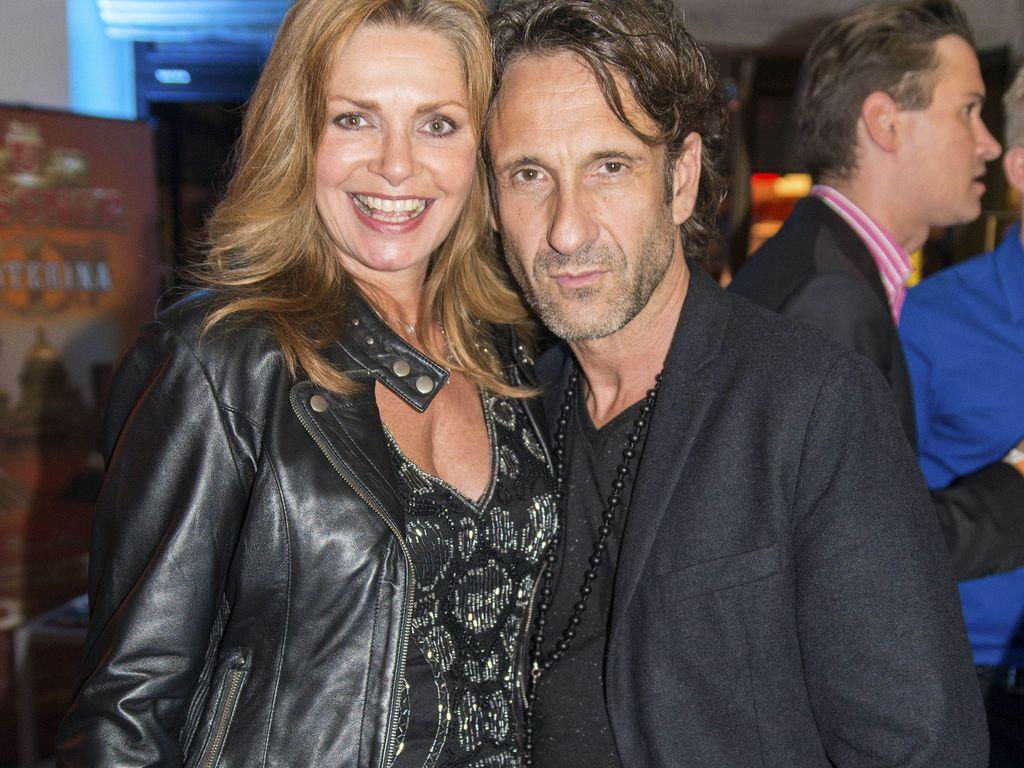 Maren Gilzer und Falk-Willy Wild bei der Eröffnung der Serienale im Crown Plaza Hotel in Berlin