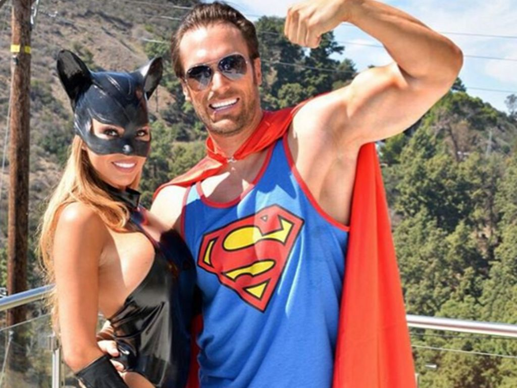 Maria und Bastian Yotta in den Hollywood Hills