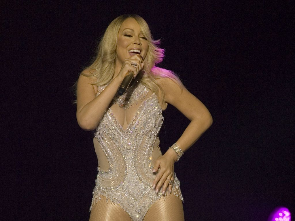 Mariah Carey auf ihrer Europa-Tour