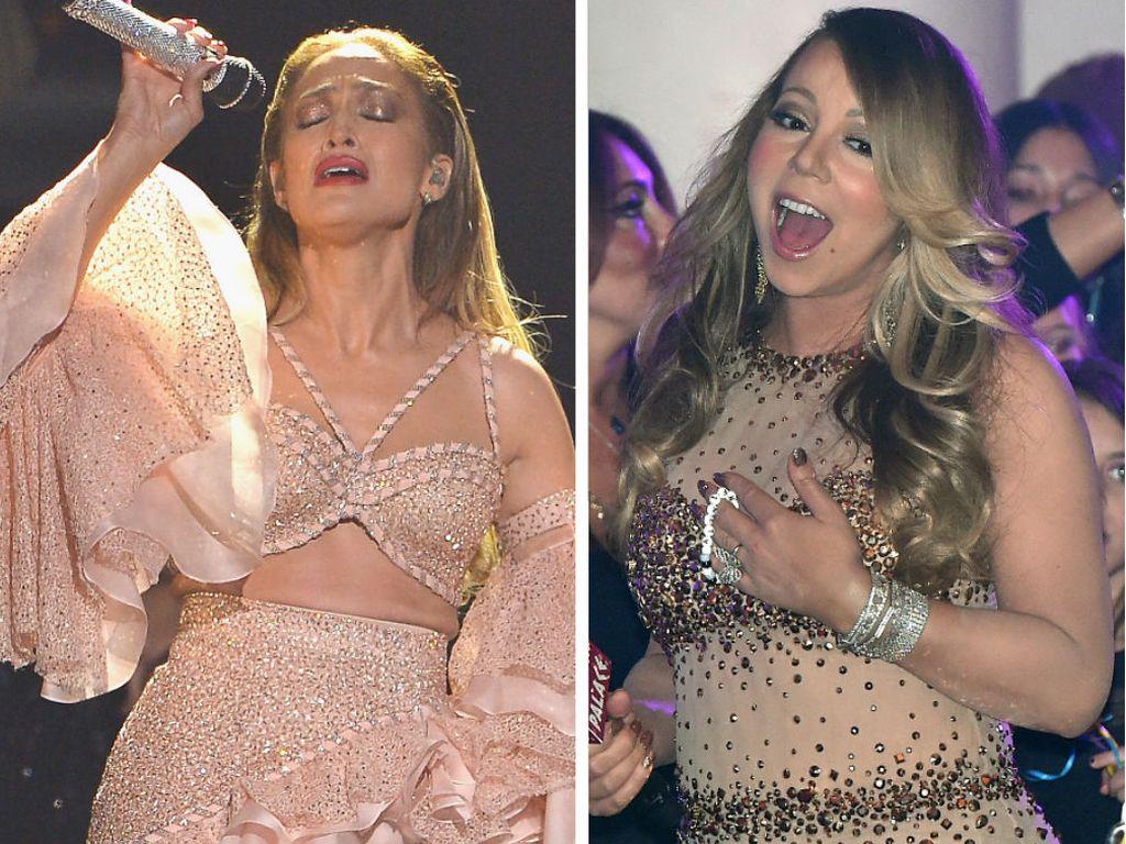 Jennifer Lopez und Mariah Carey