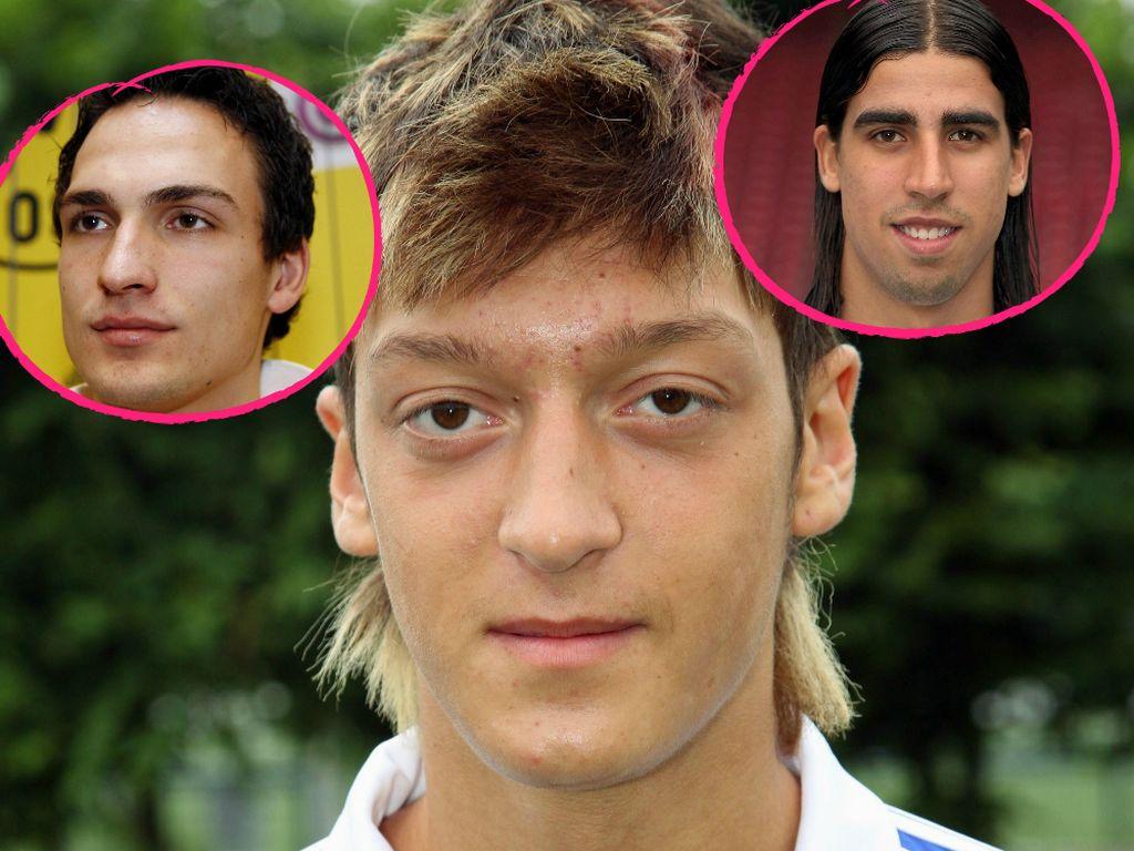 Mats Hummels, Mesut Özil und Sami Khedira