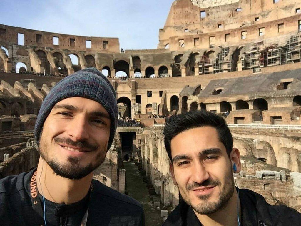 Mats Hummels & Ilkay Gündogan in Rom