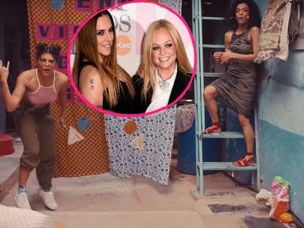 """Melanie C. und Emma Bunton, Ex-""""Spice Girls"""""""