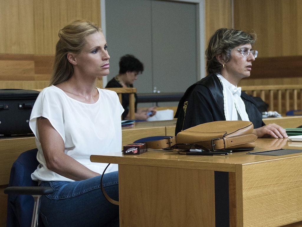Michelle Hunziker und ihre Anwältin Giulia Bongiorno