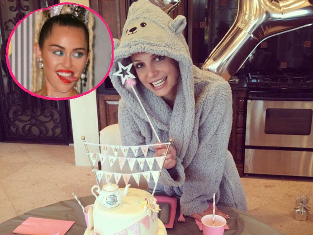 Miley Cyrus und Britney Spears