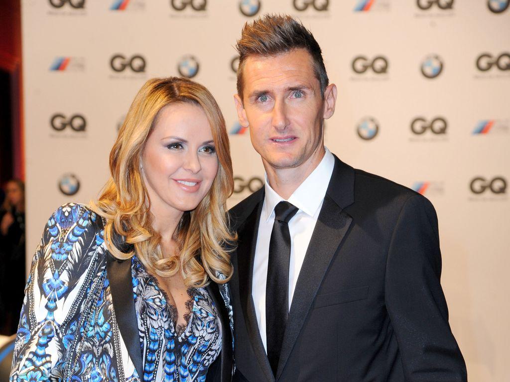 Miroslav Klose und Sylwia Klose