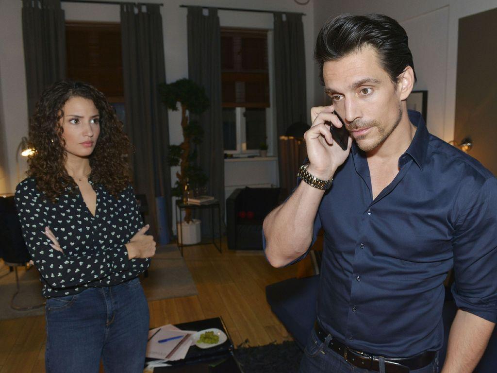 Nadine Menz und Philipp Christopher bei GZSZ