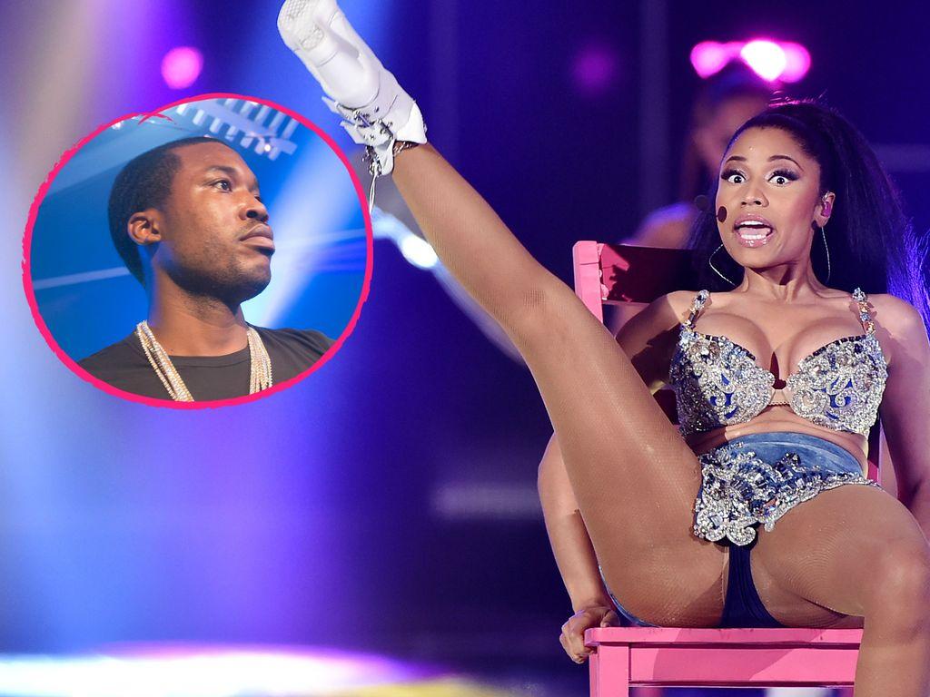Nicki Minaj und Meek Mill (v. r.)