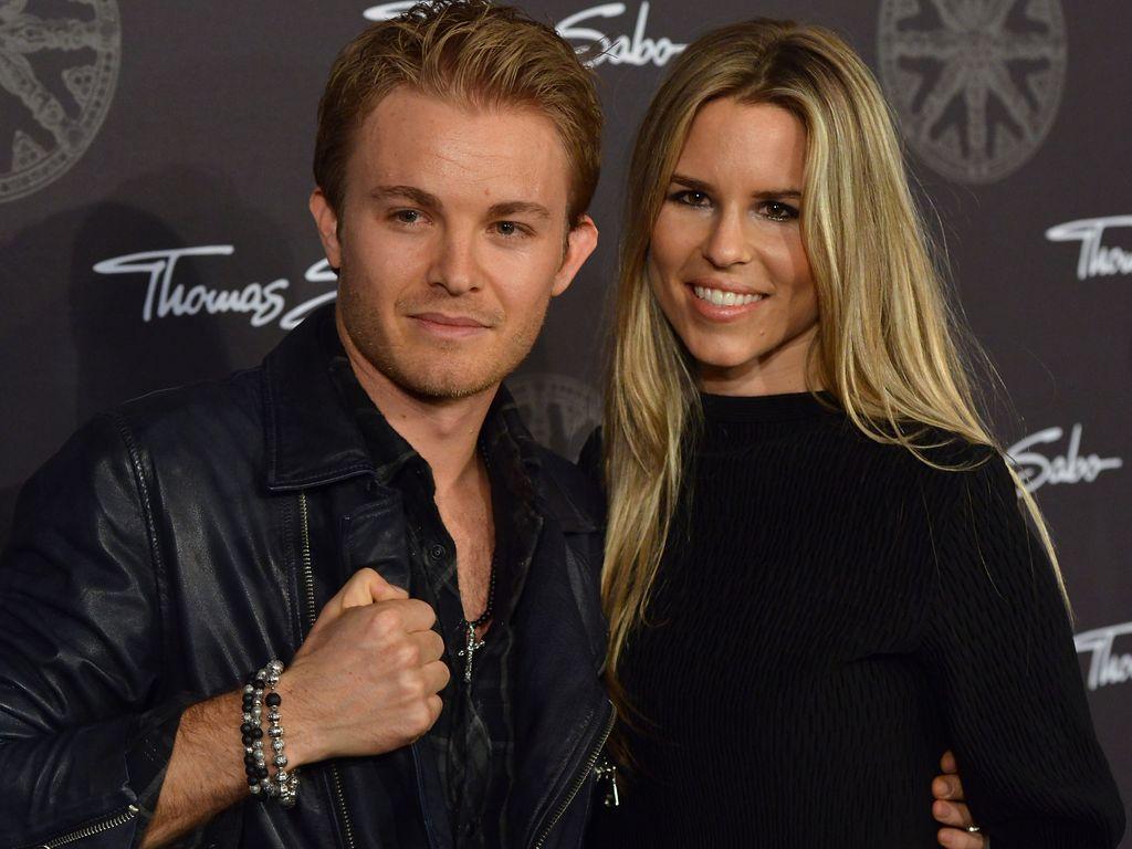 """Nico Rosberg und Vivian Sibold bei der """"Thomas Sabo Karma Night"""", 2014"""