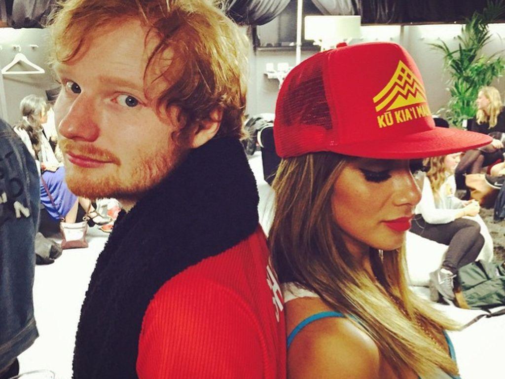 Ed Sheeran und Nicole Scherzinger